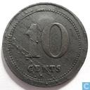 België 10 cents 1832, Vilvord