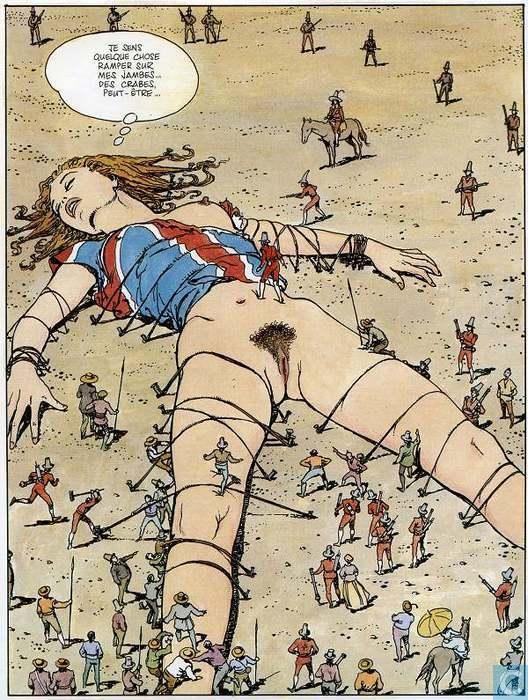 Дюймовочка порно комикс