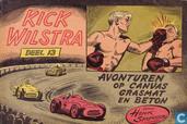Comics - Kick Wilstra - Avonturen op canvas grasmat en beton