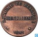 België 25 centimes 1841 Monnaie Fictive, Reckheim