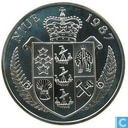 "Niue 50 dollars 1987 (PROOF) ""24th Olympiad Tennis Games - Seoul 1988 - Steffi Graf"""