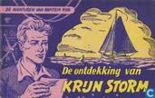 Comics - Captain Rob - De ontdekking van Krijn Storm