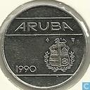 Aruba 25 cents 1990
