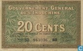 Frans Indochina 20 Cents