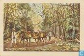 Zout Transport met Pikoelpaarden.