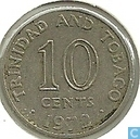 Trinidad and Tobago 10 cents 1972 (KM# 3)