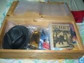 Comic Books - Bloed & stilte - Houten kist Bloed & Stilte (HC 1 tot 10) - Mitton