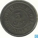 België 5 centimes 1915 (FRA-NLD)
