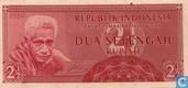 Indonésie 2½ Rupiah 1956