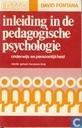 Inleiding in de pedagogische psychologie