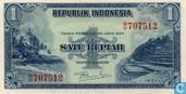 Indonésie 1 Rupiah 1951