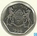 Botswana 25 thebe 1998