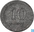 "10 cents 1825 ""Gend"""