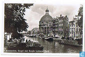 Amsterdam, Singel met Ronde Lutherse Kerk