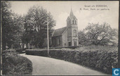 Groet uit Eerbeek, N. Herv. Kerk en pastorie