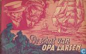 Strips - Kapitein Rob - De schat van opa Larsen