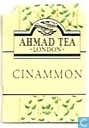 Tea bags and Tea labels - Ahmad Tea - Cinnamon