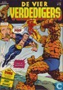 Strips - Fantastic Four - Een koud kunstje