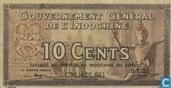 French Indo China 10 Cents
