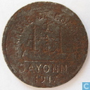 Bayonne 5 centimes 1917