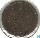 Coins - Germany - German Empire 1 pfennig 1874 (D)