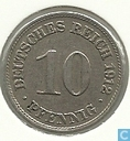 Coins - Germany - German Empire 10 pfennig 1912 (D)