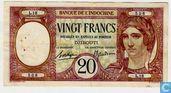 francs Djibouti 20