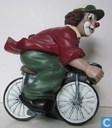 Clown à vélo