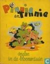 Comics - Pinnie en Tinnie - Pinnie en Tinnie spelen in de bloementuin