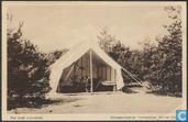 """Kampeer-Centrum """"Coldenhove"""", Eerbeek (Vel.), Een onzer Luxe-tenten"""