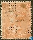 Koningin Victoria 13 Grote letters