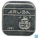 Aruba 50 cents 1991