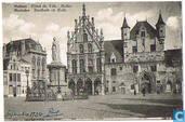 Malines - Hôtel de Ville - Hallen - Mechelen - Stadhuis en Halle