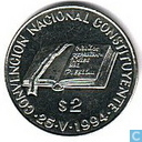 "Argentina 2 pesos 1994 ""National Constitution Convention"""