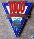 1000 logged dives Padi diver