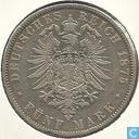 Beieren 5 mark 1875
