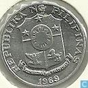 Philippinen 1 Sentimo 1969