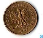 Poland 1 grosz 1992