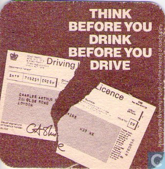 Think Before You Drink Drive Scotland