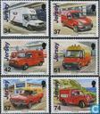 Postalische Geschichte-Post-Autos