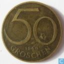 Autriche 50 groschen 1960
