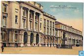 Liège - L'Université et la Statue d'André Dumont