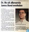 20091022 Dr. No uit allereerste James Bond overleden