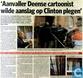 20100104 Aanvaller Deense cartoonist wilde aanslag op Clinton plegen