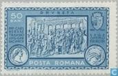 Trajan at the termination of the Danube bridge