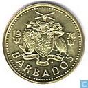 Barbados 5 cents 1974