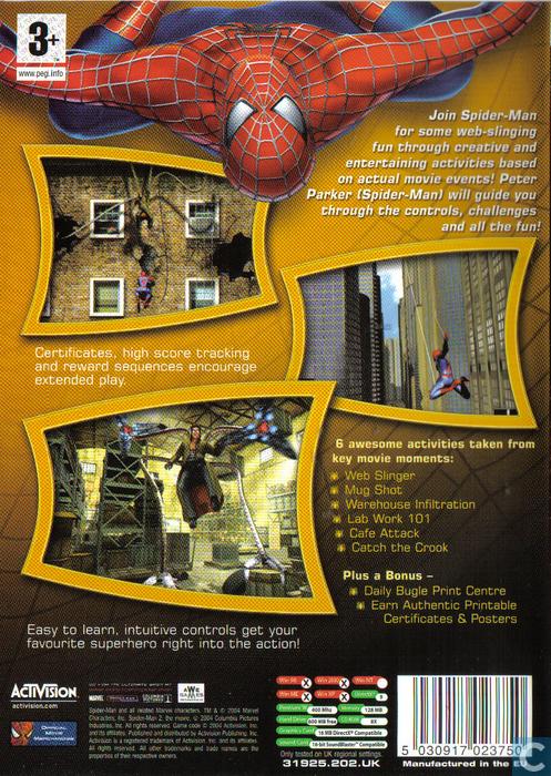 Spider Man 2 Activity Center Pc Catawiki