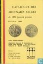 Catalogue des Monnaies Belges