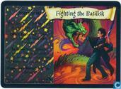 Trading cards - Harry Potter 5) Chamber of Secrets - Fighting the Basilisk