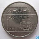 Aruba 1 Florin 1986